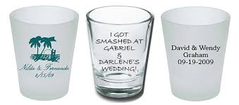 wedding favor glasses glass wedding favors the wedding specialiststhe wedding
