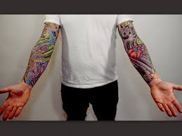 colorful sleeve tattoos for tattoos for