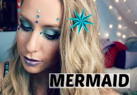 Halloween Makeup Mermaid Mermaid Halloween Makeup Hair U0026 Diy Costume Youtube