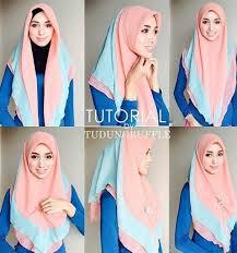 tutorial hijab segi empat paris simple 22 gambar tutorial jilbab segi empat simple terbaru 2017 2018