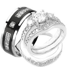 his and wedding ring sets cheap wedding sets kingswayjewelry