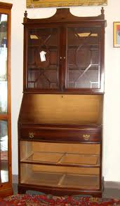 Antique Oak Secretary Desk With Hutch by Before U0026 After U2013 A Stylish Secretary Makeover