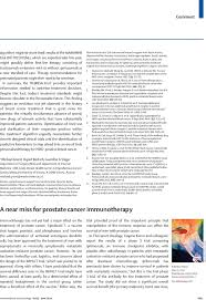 a near miss for prostate cancer immunotherapy the lancet oncology
