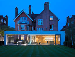 Glass Box House Terrific Modern Extension To Victorian House Exterior Victorian
