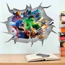 popular wall decal superhero buy cheap wall decal superhero lots