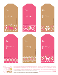 jessicandesigns 12 days of christmas free printable gift tags
