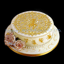 Angel Decorated Cake Round Cake Decoration Dancing Fairy Angel Silicone Cake Lace