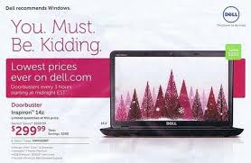 dell black friday 2012 ad leaks zdnet