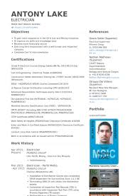 electrician resume samples visualcv resume samples database