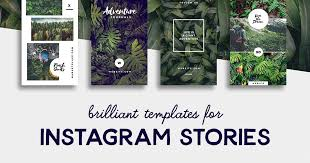 home design story themes 20 brilliant instagram story templates for brands bloggers