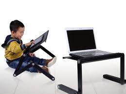 Furinno Adjustable Laptop Desks Adj Laptop Desk Portable Bed Tray Pink