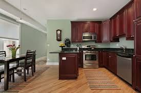 peach walls with white kitchen cabinets kitchen paint colors with