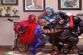 diy frame batman spiderman captain america superman funny hero