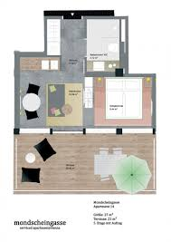 Msg Floor Plan by Serviced Apartment With Terrace And Ac 1070 Vienna