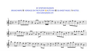 Count On Me Bruno Mars Piano Pdf Versace On The Floor Bruno Mars Eb Alto Sax Notes