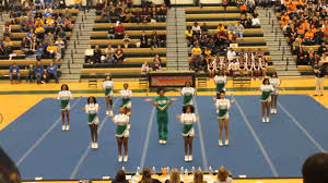 huguenot high school yearbook huguenot high school cheerleading 3a east regional competition