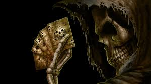 halloween skull background skull wallpaper 1600x900 35635