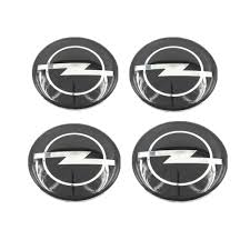 opel logo history 4pcs 60mm car styling opel mokka ampera corsa logo badge decal