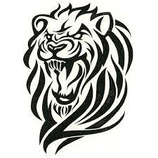 Tattoo Pictures Download | lion tattoo lion tribal tattoo decalcomanie free download tattoo