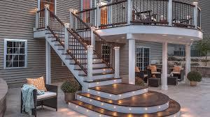 deck builders ct porches ct trex decking contractors digiorgi ct
