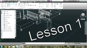 autocad architecture tutorial for beginners 1 youtube