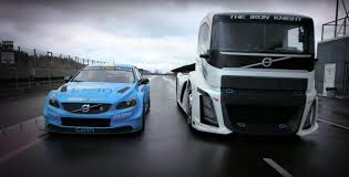 volvo trucks watch volvo pit a touring car against the world u0027s fastest truck