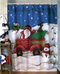 23 best christmas shower curtains sets images on pinterest