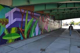 public art brooklyn bridge park created in cooperation with the nycdot s arterventions program the atlantic avenue bid investors bank and avery hall investments this mural at the