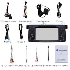 inch hd touch screen android 7 1 gps navigation car radio dvd