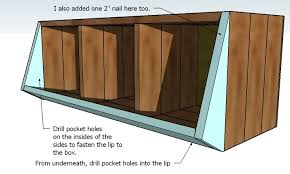 Plans For Wooden Toy Box by Ana White Vegetable Bins Diy Projects