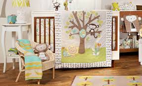 animal tree baby bedding set by living textiles nursery bedding