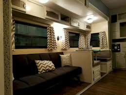 shasta camper remodel ideas th wheel trailer travel interior popup