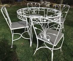 Wrought Iron Chairs For Sale 1326 Best Vintage Wrought Iron Patio Furniture Images On Pinterest