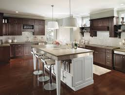 kitchen cabinets with island brown kitchen cabinets with white island 3382 home and