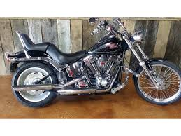 harley davidson softail custom in missouri for sale used