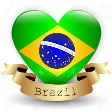 Brazil Flag Image Heart With Brazil Flag Royalty Free Cliparts Vectors And Stock
