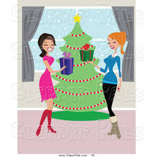 free christmas gift exchange clip art 12