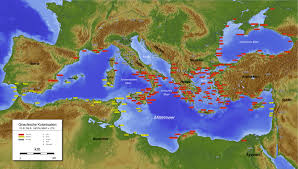 A Map Of Ancient Greece by Could Someone Elaborate On Ancient Greek Colonization Askhistorians