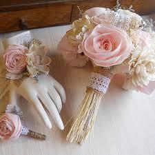 shop burlap flower boutonniere on wanelo