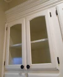 diy changing solid cabinet doors to glass inserts doors