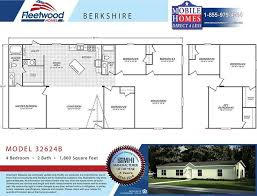 4 Bedroom 2 Bath Mobile Homes 16 Best Floor Plans New House Images On Pinterest Modular Homes