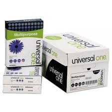 universal one white copy paper unv95200 officesupply