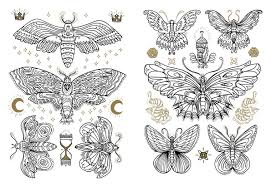 fancy tattoo coloring book coloring coloring book