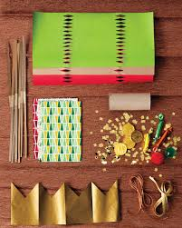 christmas cracker inspired crafts martha stewart