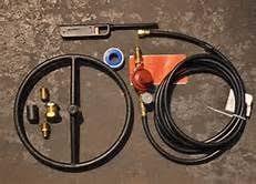 build a propane fire table diy propane fire pit kit outdoor ideas pinterest propane fire