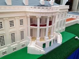 The Inside Of The White House White House South Portico Made Out Of Legos Momsla