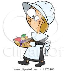 Happy Thanksgiving Pilgrims Cartoon Of A Hungry Thanksgiving Pilgrim Eating A Drumstick