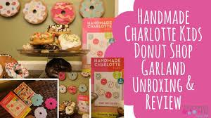 donut shop garland craft from handmade charlotte and creativity