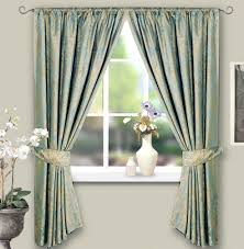 Gold And Blue Curtains Blue U0026 Gold Jacquard Lined Curtains 66 X 72