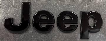 jeep black emblem black badge for jeep grand wk item 68193400aa